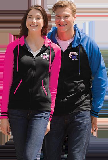 Couple wearing custom screen printed apparel
